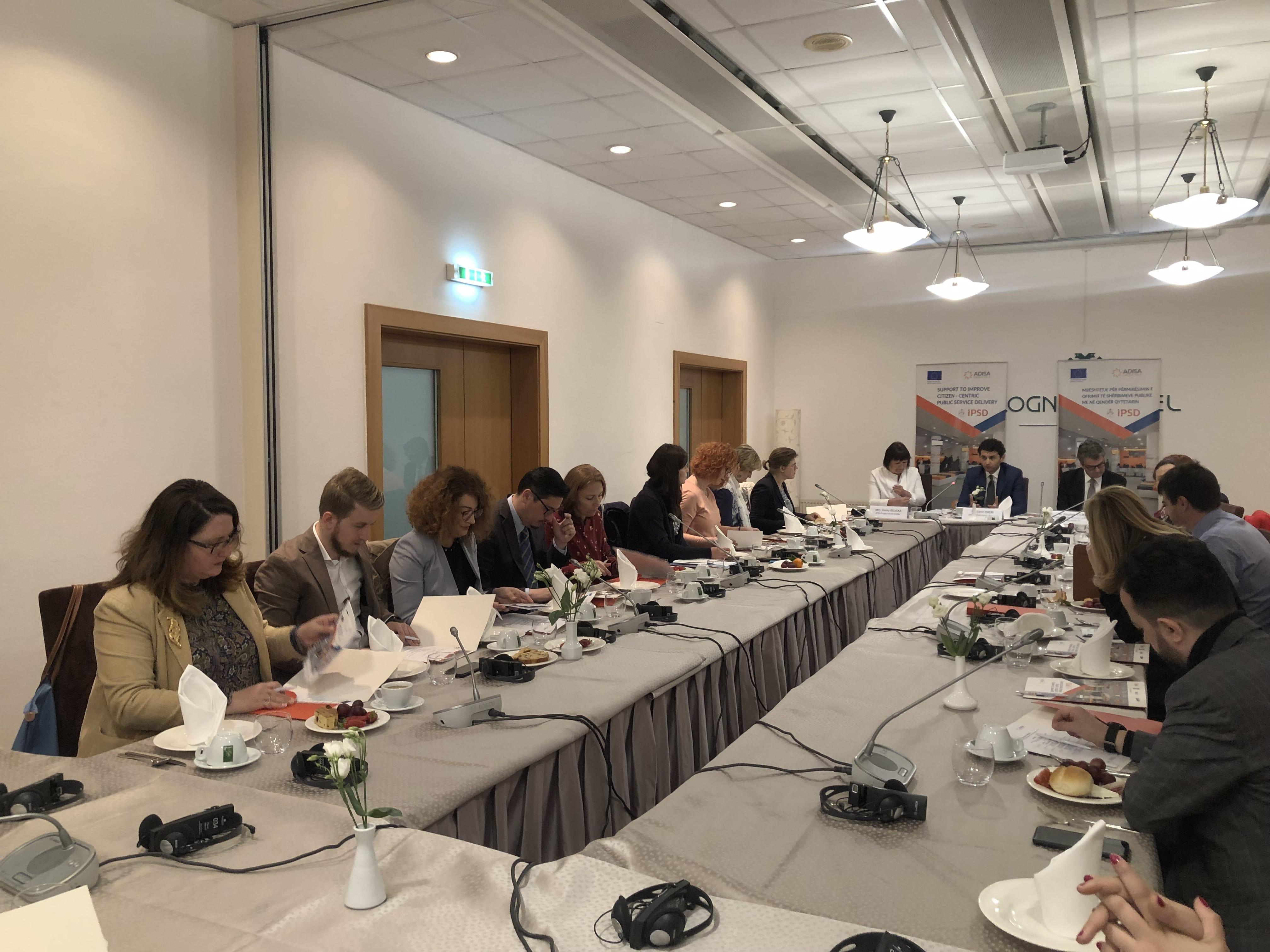 ADISA dhe IPSD takim me donatorë dhe anëtarë të përfaqësive të huaja diplomatike në Tiranë