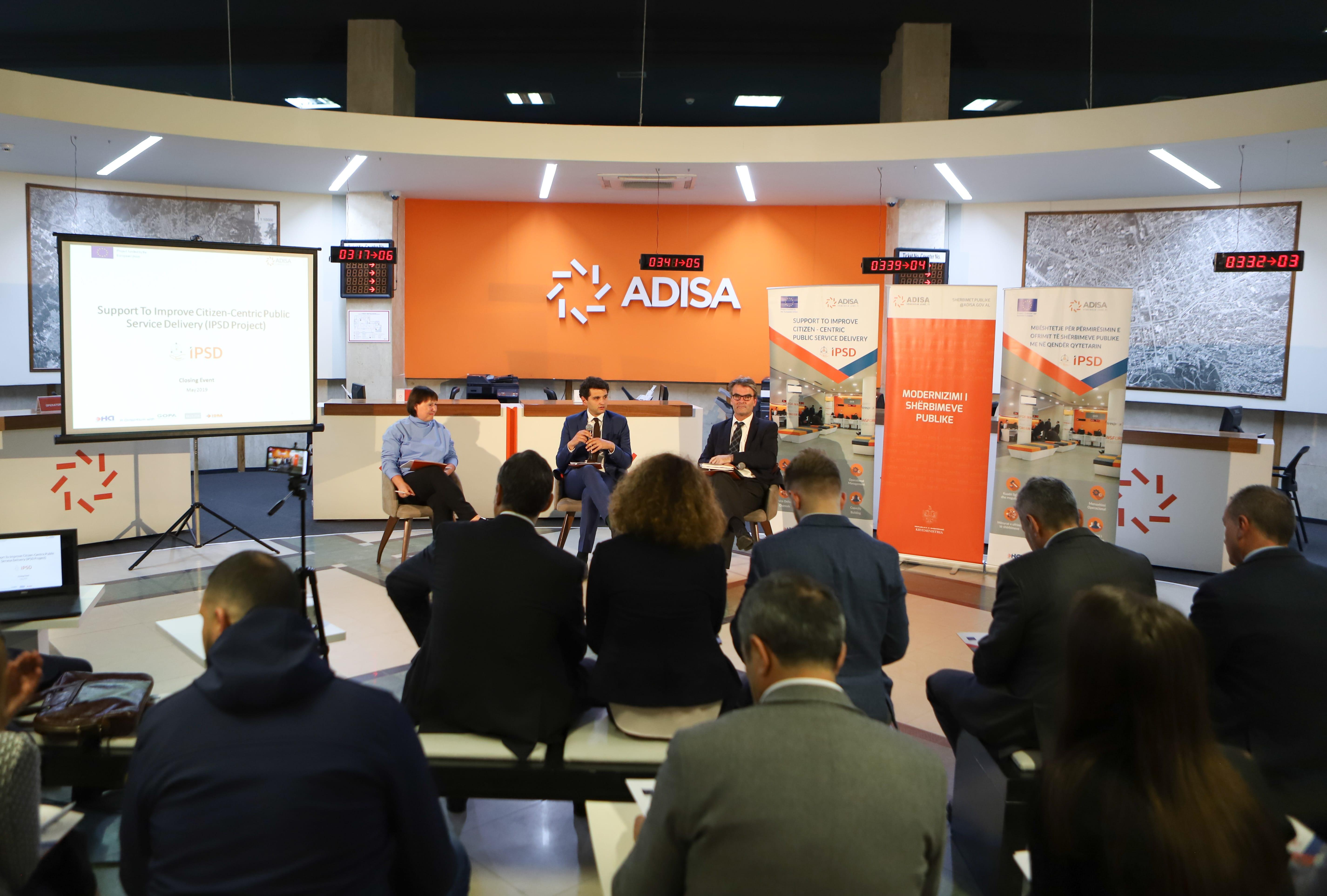 Ceremonia përmbyllëse e projektit IPSD me përfitues ADISA