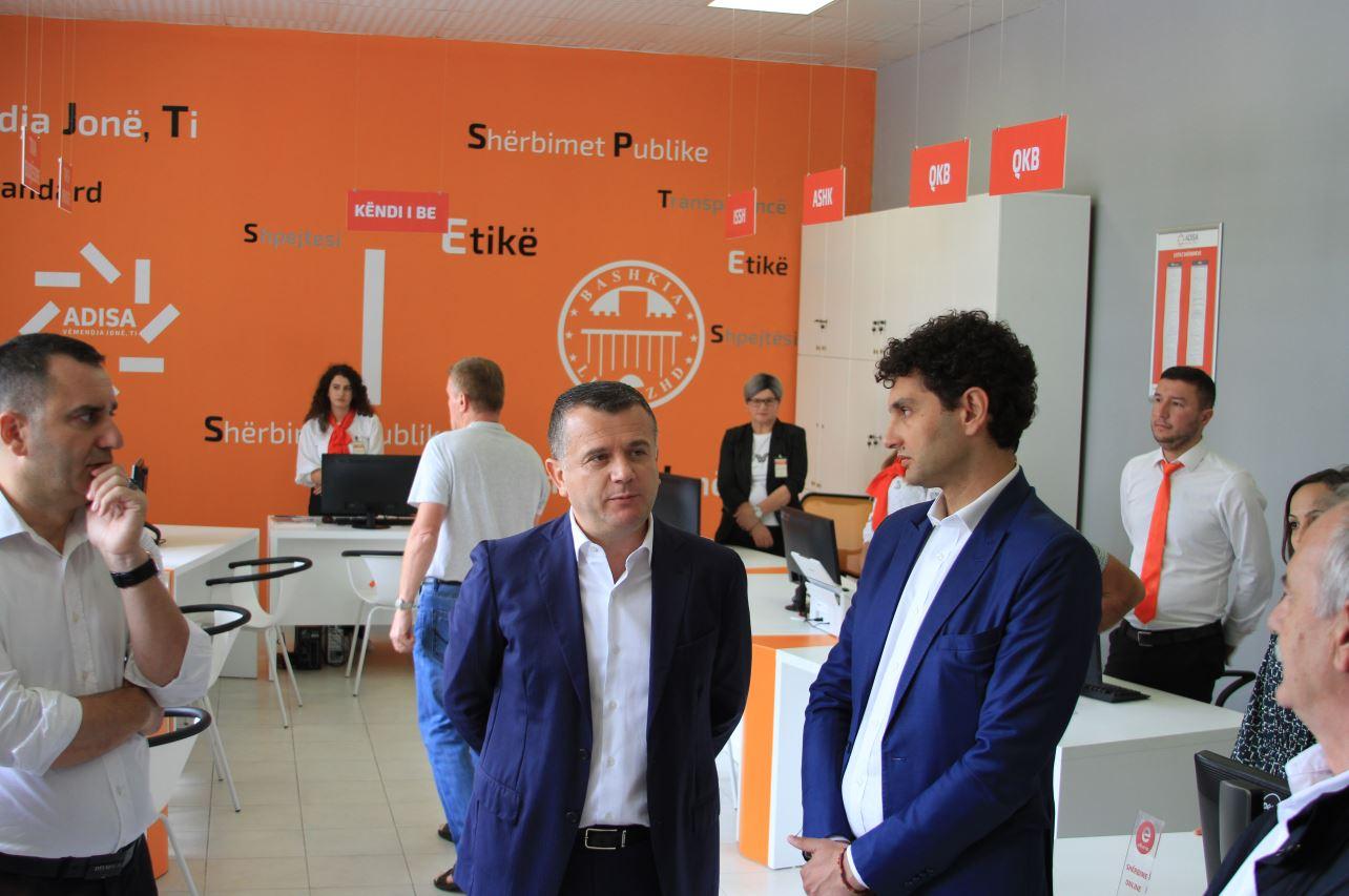 Hapet zyra me një ndalesë ADISA në Bashkinë e Librazhdit